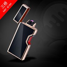 Factory direct creative creative USB touch sensor with infrared pipe cigar charge double arc wholesale 875