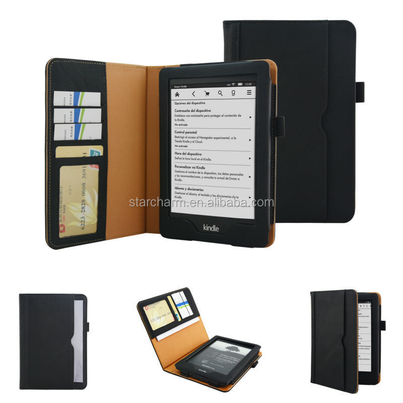 Top Quality PU Leather Case for Amazon Kindle Fire HD7 2014