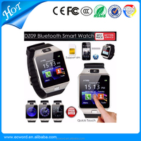 2016 Hots Factory Seller DZ09 Smart Watch 1.5 inch Touch Screen SIM Card TF Card 3.0 Version GT08 A1 Smart Watch