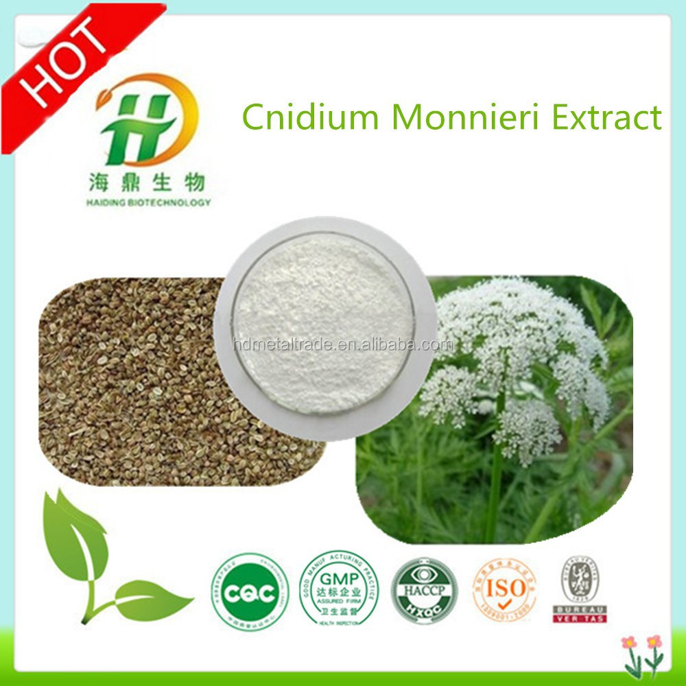 Cnidium Monnieri Extract Osthole 10%,35%,60%,90%,98%HPLC