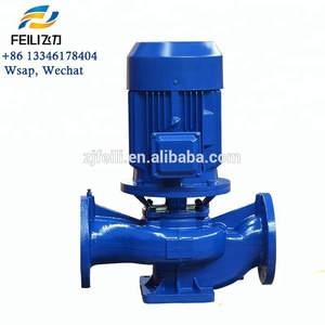 electric pipeline centrifugal pumps vertical inline circulating pumps high pressure inline water pump