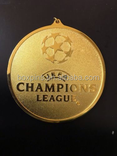 UEFA CHAMPIONS LEAGUE MEDAL EUROPEAN CUP FINALgold silver bronze medals