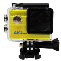 French hot selling mode 173degree Big lens Seven color 4k 30fps action camera 4 k