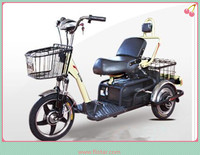 Three Wheel Electric Shopping Cart For Old/Electric Cargo Tricycle