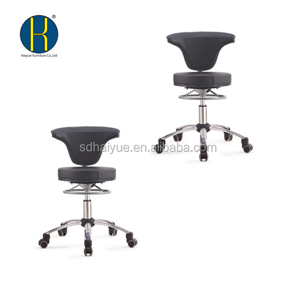 Ergonomic back support computer chair chrome base swivel smart office chair