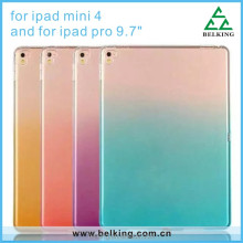 Fashion Gradual Gel Soft TPU Clear Crystal Case For Ipad Mini 4 Tablet