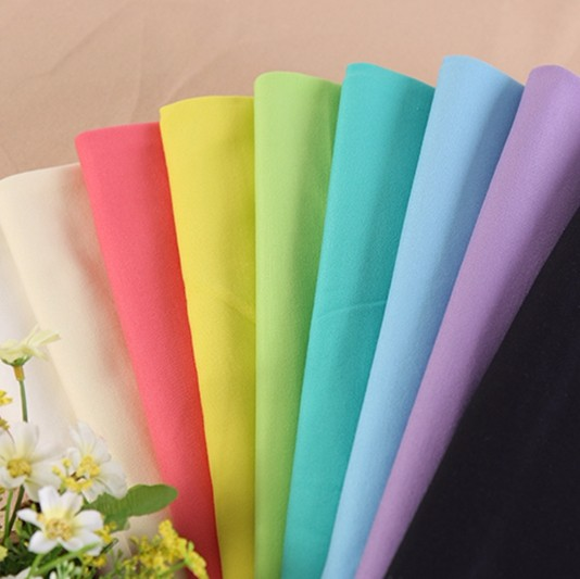 Factory stock multicolor cheap rayon nylon knitting ponte roma fabric for sale