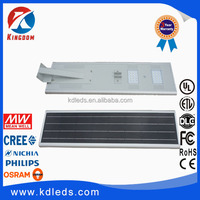 Lifetime 25 years solar panel CE RoHS waterproof All in one IP65 50w 40w 30w 10w 15w solar led lamp