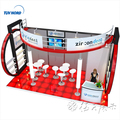 Detian Offer modular tradeshow displays stall custom aluminum trade show booths