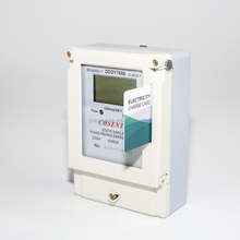DDSY7666 Type single phase electronic prepayed meters wich IC card prepaid electricity meter