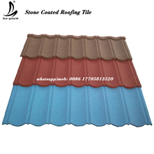 Color prepainted corrugated galvanized / galvalume steel metal roof sheet /stone coated roofing tile for sale