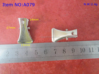 Factory Supply Small Metal Badge Clip