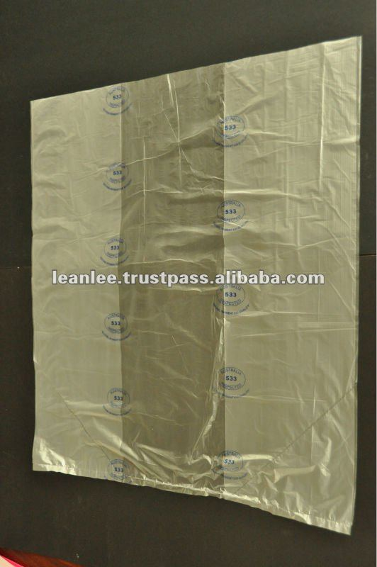 COLOR BOTTOM SEAL BAGS FOR AGRICULTURAL
