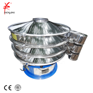 Rotary vibro siever vibrating screen for fine powder dehydrated vegetable powder