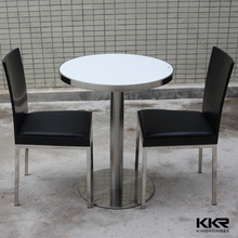 Solid surface acrylic small meeting table