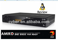 Amiko SHD-8900 Alien full hd 1080p HDTV Amiko alien Wireless Network & 3G Modem 8900 Support youtube instock