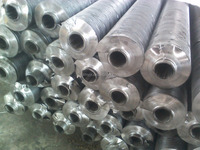 L type aluminum strip wound steel tube, aluminum spiral fin 1100, 1060, 1050,