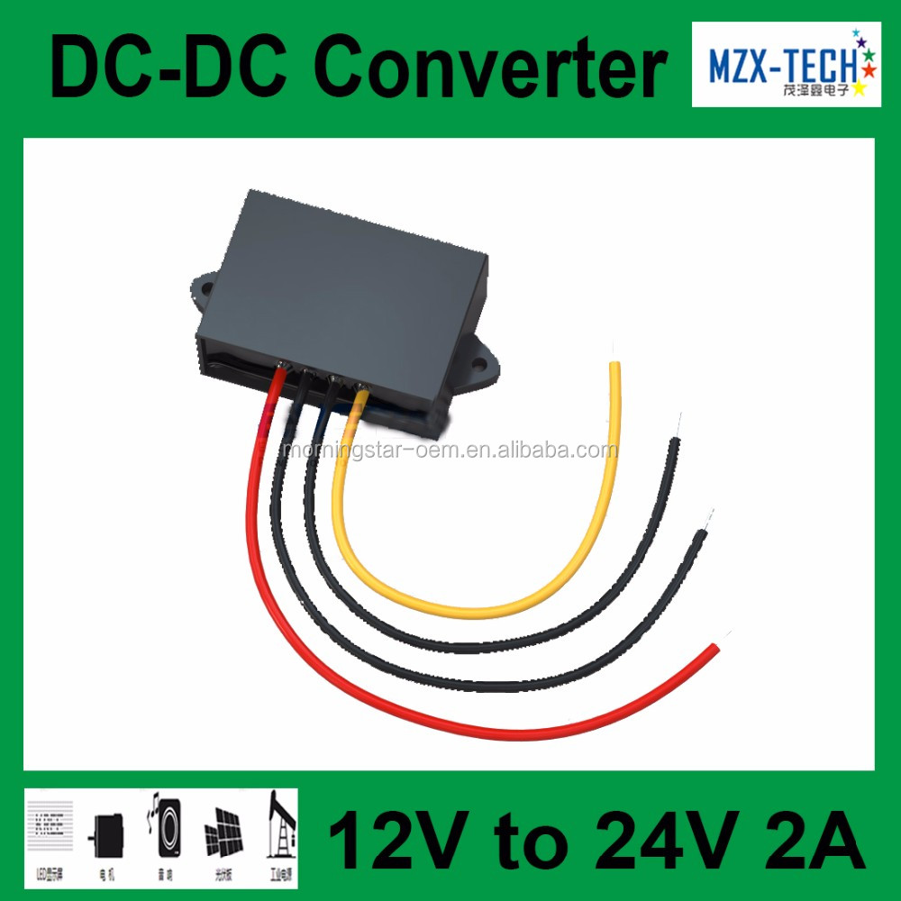 Step Up 12v To 24v Dc Converter 9 22v 2a 48w Boost Power Circuit If You Order More Than 100pcs