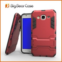 Shockproof mobile phone flip cover for samsung galaxy j5