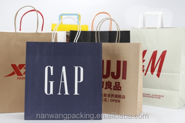 Cheap and Strong Customized Paper Shopping Bag