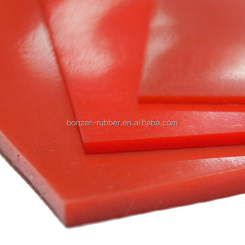 Nanjing Bonzer thin clear silicone vulcanized rubber sheet