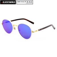 Hand made polarized metal sunglasses china wholesale