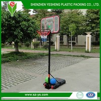 Shenzhen Outdoor Products Portable Basketball Pole Stand Shatterproof Backboard 37''