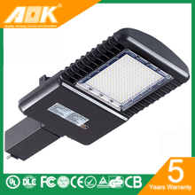 52,000 Hours Lifespan Type III 347V LED Parking Lot Lighting Shenzhen