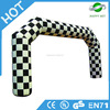Best price!!!!finish line inflatable arch,christmas inflatable arch,inflatable tree arch