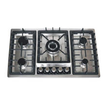 Nutural Gas Cast Iron and Stainless Steel Material Gas Stove