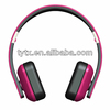 custom logo mobile stereo bluetooth headphone for iphone,htc,samsung