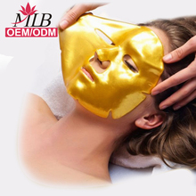 crystal gold anti aging q10 collagen facial mask