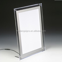 A4 Acrylic led backlit photo frame