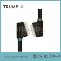 [TRUMP K for you ] 20 Pin SCART to SCART Lead Cable for DVD/HDTV/AV/TV, Cable Length: 1.5m