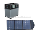 300W mini solar kit with foldable solar panel for camping
