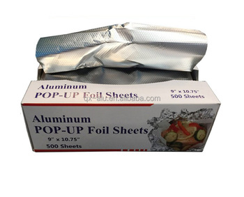 No cutting Aluminum Foil sheets