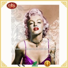 Marilyn Monroe beautiful girl picture canvas painting, girls pictures sexy
