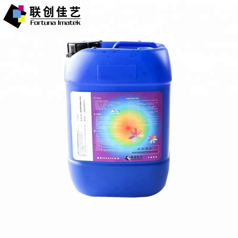 Fortuna Imatek Manufacture Reactive Dye Ink For Kyocera Printhead