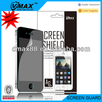 Screen protector packaging for iPhone 4s oem/odm (Anti-Glare)