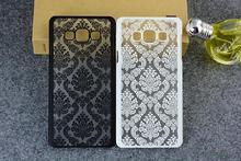 Back Cover for Samsung Galaxy S3 S4 S5 S6 Note 4 Note 5 case Damask Vintage Flower Pattern Luxury