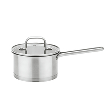 Encapsulated Bottom Stainless Steel castamel cookware saucepan fry pan for baby food cooker