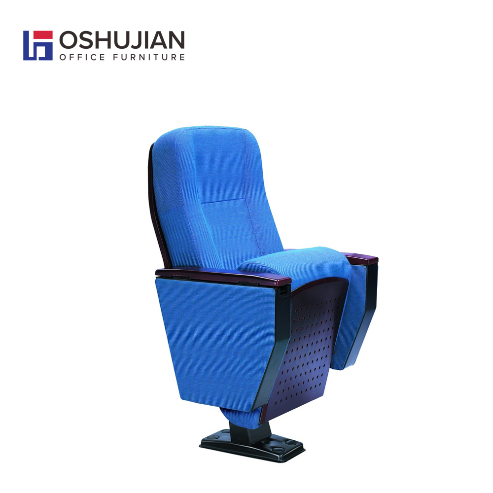modern style auditorium chair/3d cinema chairs/folding theatre chairs SJ8615