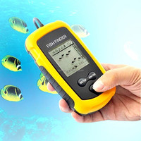 new portable ultrasonic fish finder with LCD display