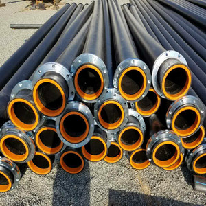 low price high molecular PE pipe for recycle water and sand extracting pump system