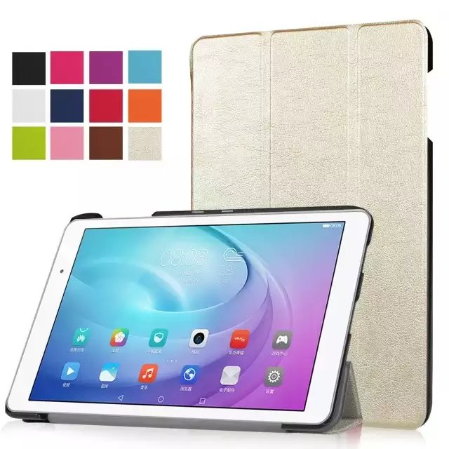 flip leather tpu hybrid tablet case for huawei m2 10 inch