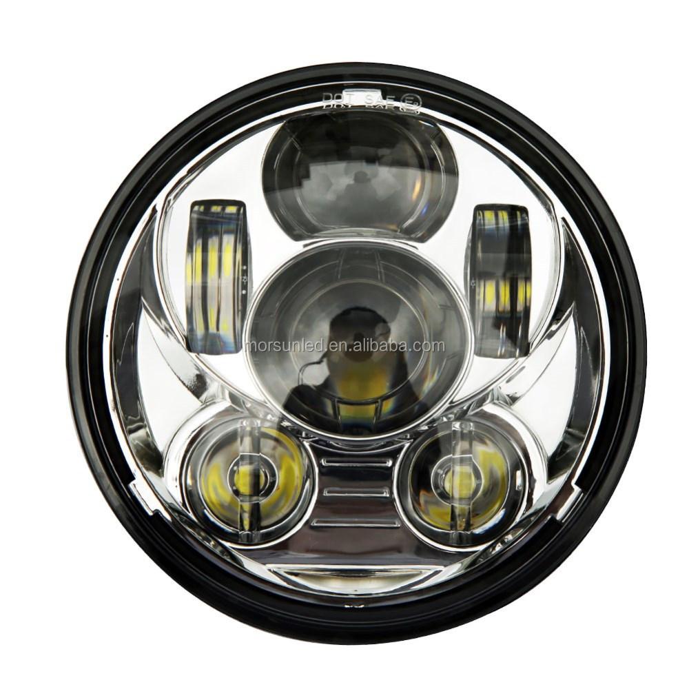 광주 공장 5.75 헤드 라이트 자동차 led 헤드 라이트 도로 글라이드 ...