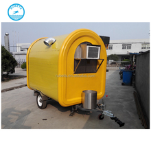 2017 China supplier towable food trailer for sale food truck manufacturers mobile motorcycle food cart