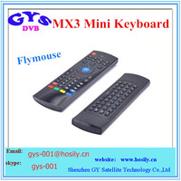 Fly Air Mouse Wireless Keyboard 2.4GHz Qwerty Remote M8 MX3 & more Android KODI