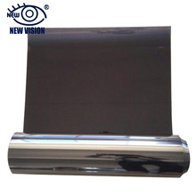 Adhesive-free Static Solar Window Film, Sun Mirror Black Colors Per Roll