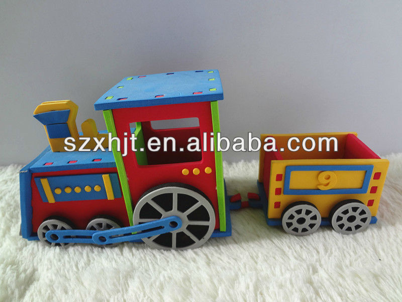 craft train kits for kids holiday gift